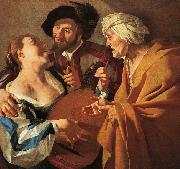 BABUREN, Dirck van The Procuress kj oil